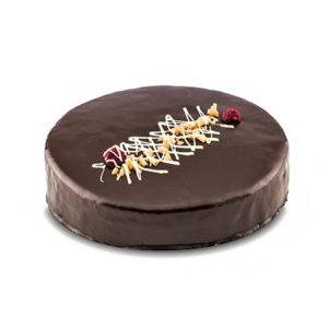 Mousse de chocolate y frambuesa